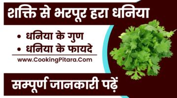 धनिया – Coriander in Hindi